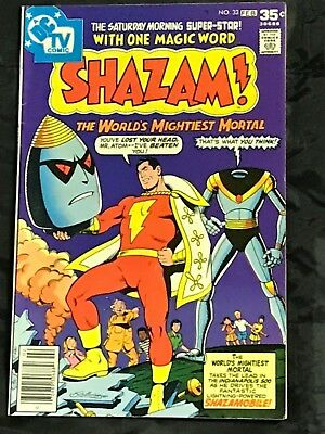 SHAZAM#33 (1978,DC) BRONZE AGE COMICS No.33 Shazamobile!