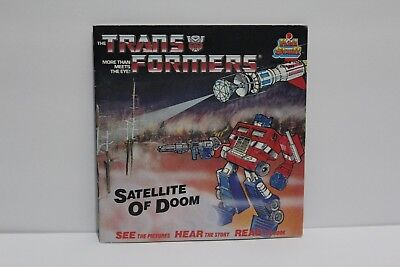Transformers G1 Kid Stuff Book Satellite of Doom Generation 1