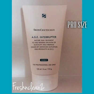Skinceuticals AGE A.G.E. Interrupter 4oz(120ml) Pro Size, Brand New !