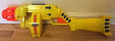 Buzz Bee Toys Automatic Mech Tommy 20 Yellow Nerf Gun