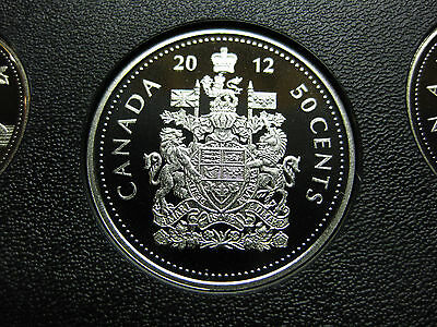2012 Canadian Nickel Proof 50 Cent ($0.50)