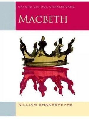 MACBETH Book Oxford School Story Literature Notes Lists WILLIAM SHAKESPEARE New