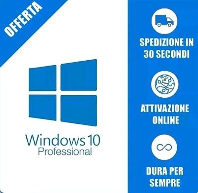 Windows 10 Pro 32-64 Esd Licenza Originale Italiano
