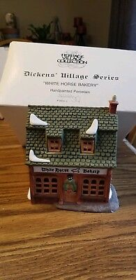 Dept 56 Dickens Village  WHITE HORSE BAKERY #5926-9