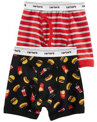 Carter's Boy's 2-Pack Boxer Briefs - Size 4-5 Toddler