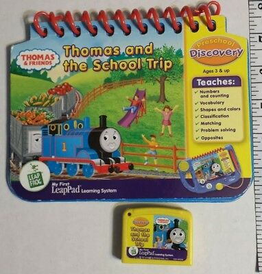 Leap Frog My First LeapPad Preschool Discovery Thomas And The School Trip Used