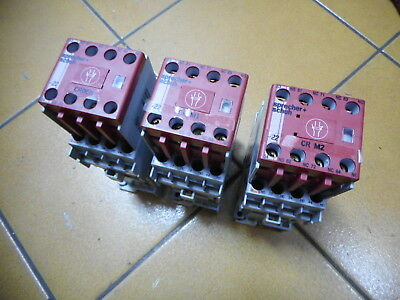SPRECHER and SCHUH -- Qty of 3 -- CSS7D-53EC 24V DC(DIODE) SAFETY CONTACTORS
