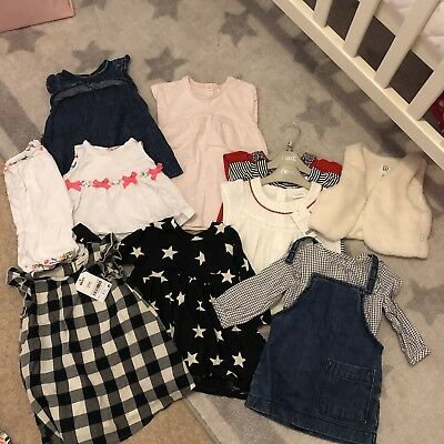 Next Ted baker & Baby GAP Baby Girl Bundle 12 Items 3-6 Months