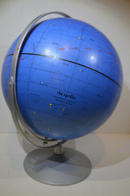 Vintage The Apollo Celestial Globe Made By Replogle. 1971  11""