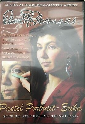 Pastel Portrait - Erika by Daniel E. Greene Art Instruction DVD
