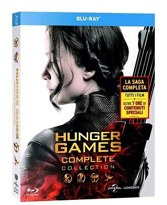 Blu Ray The Hunger Games - Complete 4 Film Collection (4 Blu-Ray Disc)