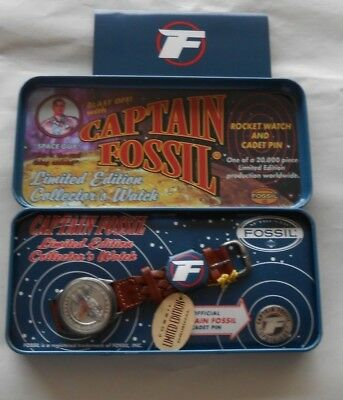 Captain Fossil Rocket Collector's Watch