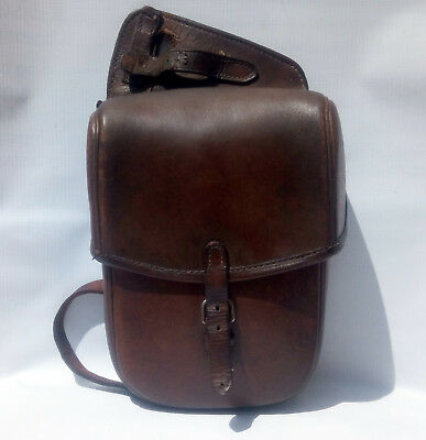 WWII German Cavalry  officer Pommel style Saddle bag  Horse small....Very  Rare
