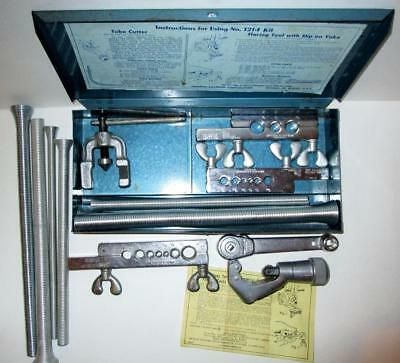 Imperial-Eastman Tubing & Flaring Tool Kit No.121-F w/Extras