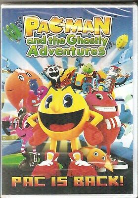 PAC MAN and the GHOSTLY ADVENTURES DVD NEW UNOPENED