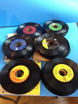 Vintage 50s 60s 45 Record Oldies & Early Rock Collection Lot SEE LIST!!!