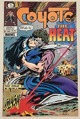 Coyote #11, 1st Todd McFarlane Published Art in Comics, Epic, High Grade, Spawn