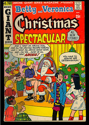 Betty & Veronica Christmas Spectacular (Giant Series #168) Archie Teen 1970 VG-