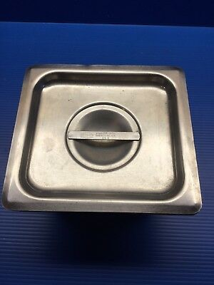 Vollrath 1/6 Stainless Steel Hotel , Steamtable , Cold Bar , Salad Bar Pan & Lid