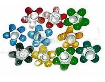 30 - Glass Pipe Screens Daisy Glass Screens MUST HAVE Smoking Tool - USA SELLER
