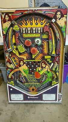 Williams Laser Ball Pinball Play Field Bumpers And Plastic Parts Lazer Ball
