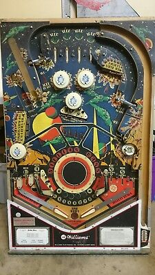 Williams Stellar Wars Pinball Play Field Bumpers And Plastic Parts Flippers