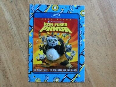2018 Topps Wacky Packages Go To The Movies Classic Film Sticker Kung Fu Panda 10