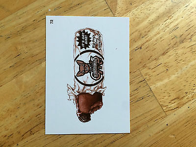 2016 Topps Mlb Wacky Packages Sepia Sticker Chihuahuas Hot Dogs Got Bite 72 Mean