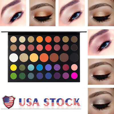Makeup 39 Colors Pearlized Color Eyeshadow Powder Eye Shadow Matte Palette
