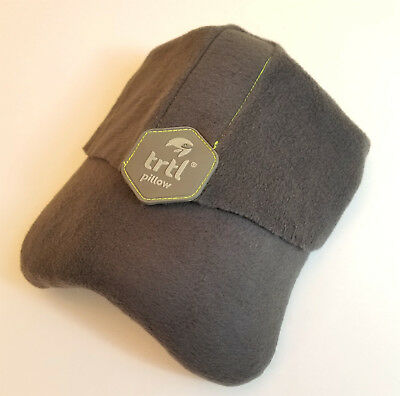 TRTL Travel Pillow Soft Neck Support Gray