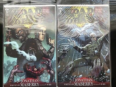IDW Comics Road Of The Dead Reg. Issue & Variant