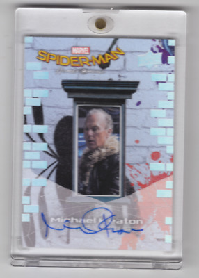 2017 Upper Deck Spider-Man Homecoming Michael Keaton Auto As The Vulture