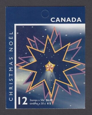 CANADA BOOKLET BK314 12 x 50c  CHRISTMAS - NATIVITY