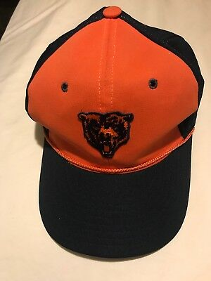 703f93c207d04 purchase vintage chicago bears hats 3c64a fa61f  canada chicago bears vintage  snapback trucker hat 1980s boy scout style. 0f79b 6e7f6