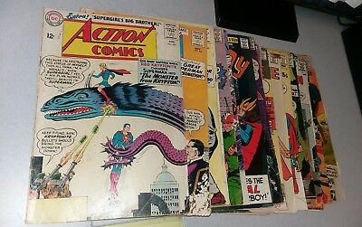Superman 19 Issue Silver Age dc Comics Lot run set movie action collection