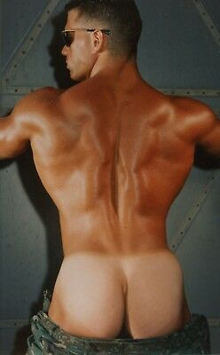 Vintage Colt BeautifulSmooth Butt Muscular Nude Jake Tanner 5x7 Photo Gay 16259