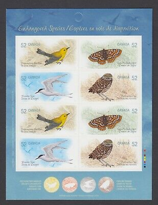 CANADA BOOKLET BK388 8 x 52c ENDANGERED SPECIES - 3