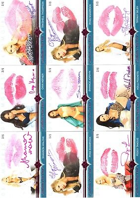 2018 Dreamgirls Update Auto TIFFANY SELBY 5/5 KISS CARD AUTOGRAPH Benchwarmer