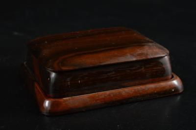 G3804: Japanese Wooden CONTAINER for article Accessories Case Box w/tray