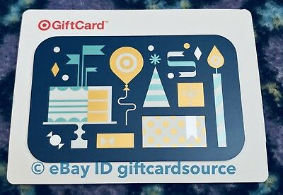 Target 2015 Gift Card Happy Birthday No Value Collectible New