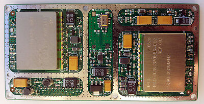 2x PLL 1.1-1.5GHz and 1.7-2.3GHz on LO card incl 10MHz TCXO and ADF4106