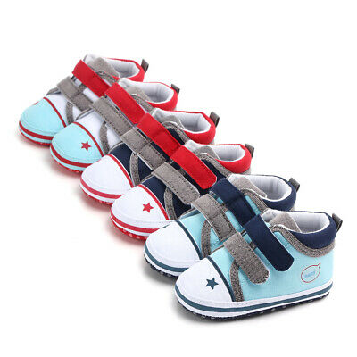 Newborn Baby Shoes Infant First walkers Kids Canvas Shoes Baby Sneaker Prewalker