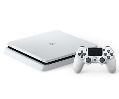 Sony PLAYSTATION 4 PS4 HDR Gioco Console Bianco 1TB CUH-2100BB02 Giappone Ems