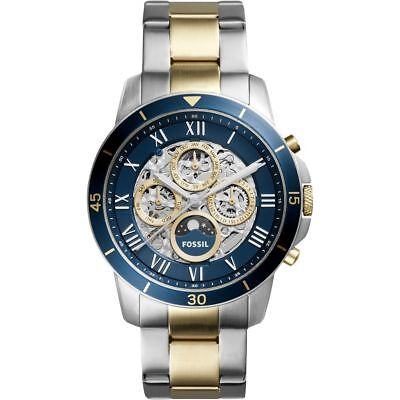 Fossil Men's Grant ME3141 Silver Stainless-Steel Automatic Dress Watch