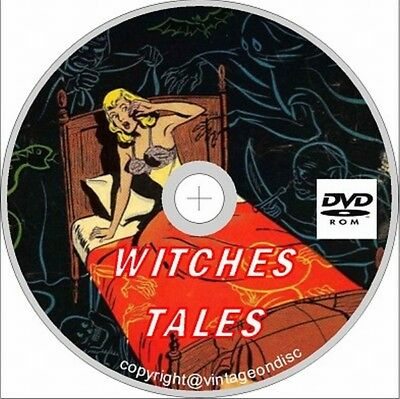 Witches Tales comics Issues 1 - 28 on Dvd Rom