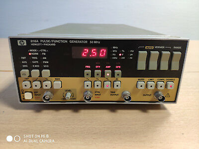 HP 8116A Pulse/Function Generator 50 MHz