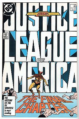 Justice League of America #261, Near Mint Minus Condition