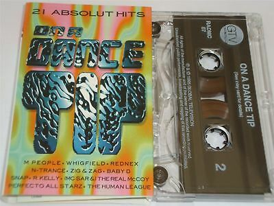 On A Dance Tip Cassette Tape 21 Hits Rednex Zig Zag Human League Perfecto