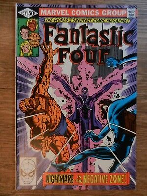 Fantastic Four # 231 prior issue to John Byrne takeover