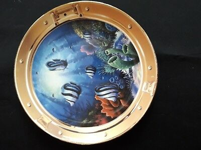 Royal Doulton, Window to Paradise by Miller the franklin mint poissons tropicaux